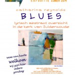 expositie BLUES in kerk van Zuiderwoude